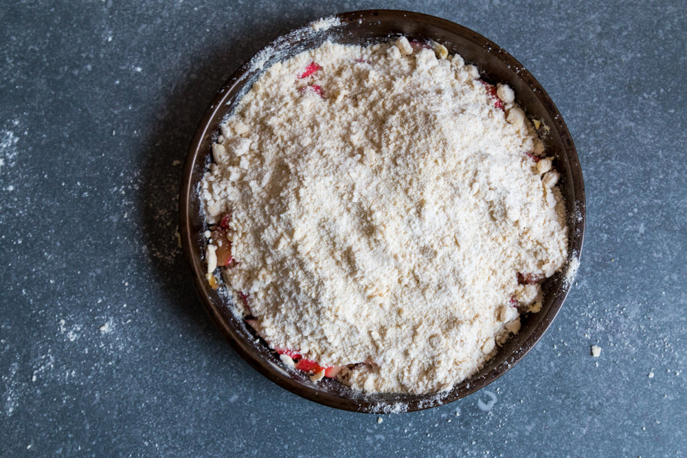 Rhubarb ginger and rose crumble -4.jpg