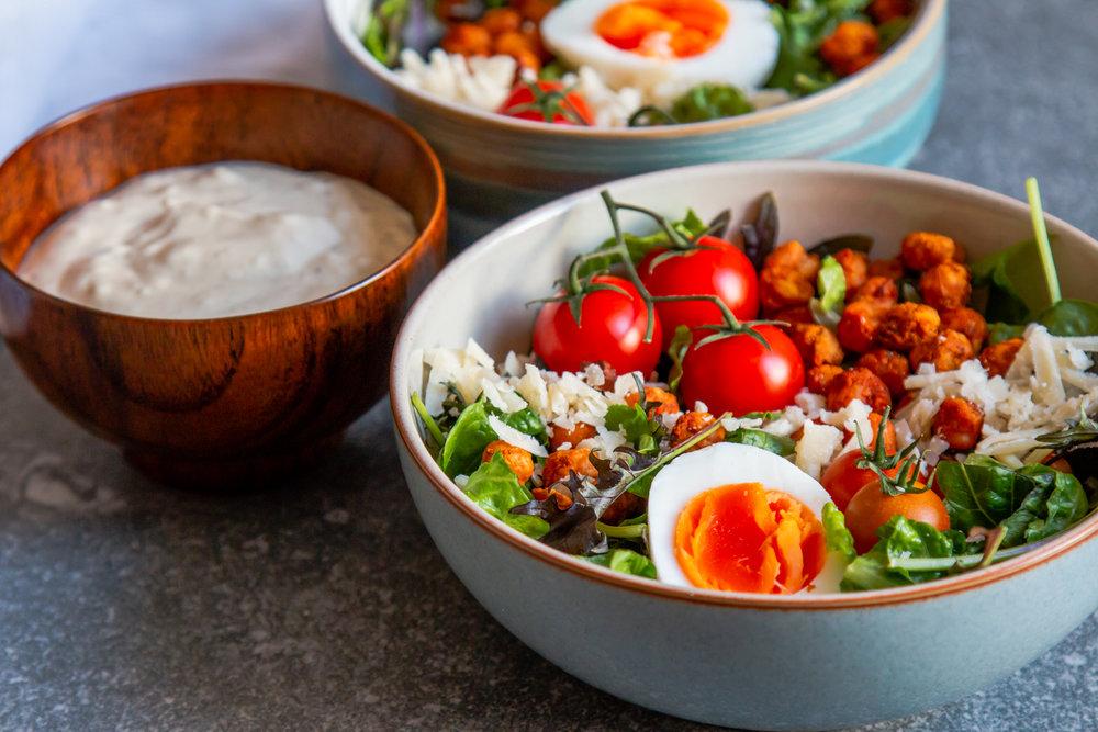 Crispy harissa chickpea ceasar salad -7.jpg