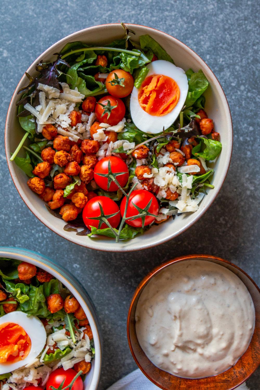 Crispy harissa chickpea ceasar salad -3.jpg