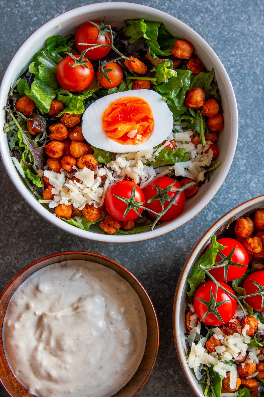 Crispy harissa chickpea ceasar salad -6.jpg