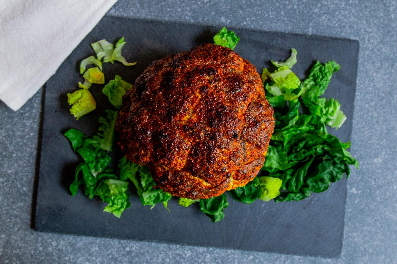Sweet Chermoula Whole Roasted Cauliflower