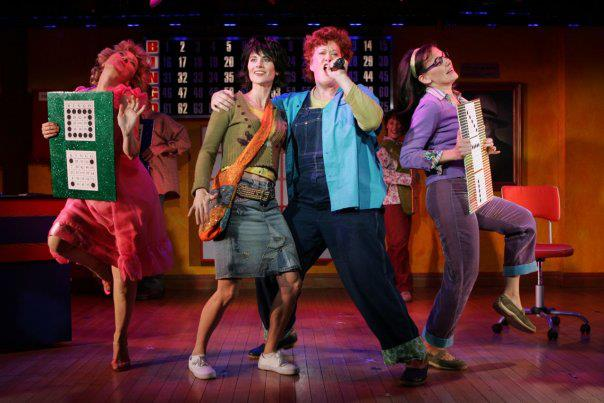 Liz Larsen, Beth Malone, Liz McCartney, Janet Metz in the Original 2006 Off-Broadway Production