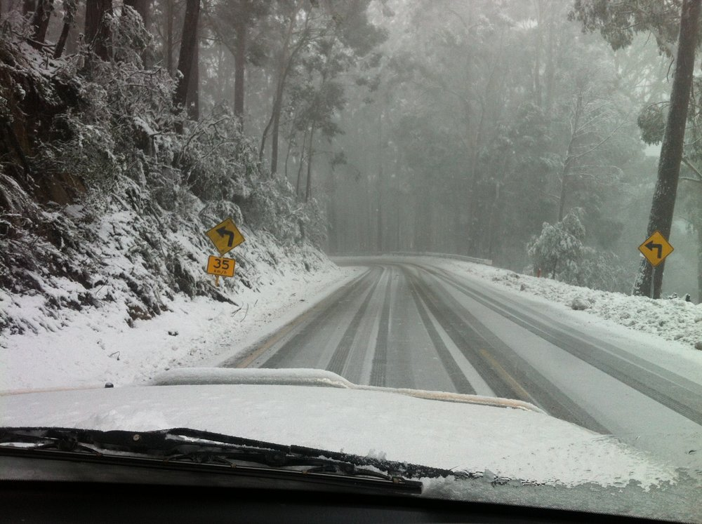 Driving a car... - Make sure you know all you need to know about driving in the Alpine National Park and Mt Buller resort.