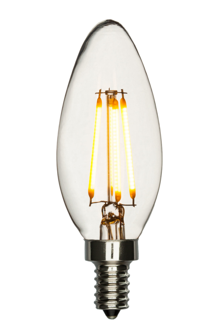 LED Chandelier Bulb 40W Equal