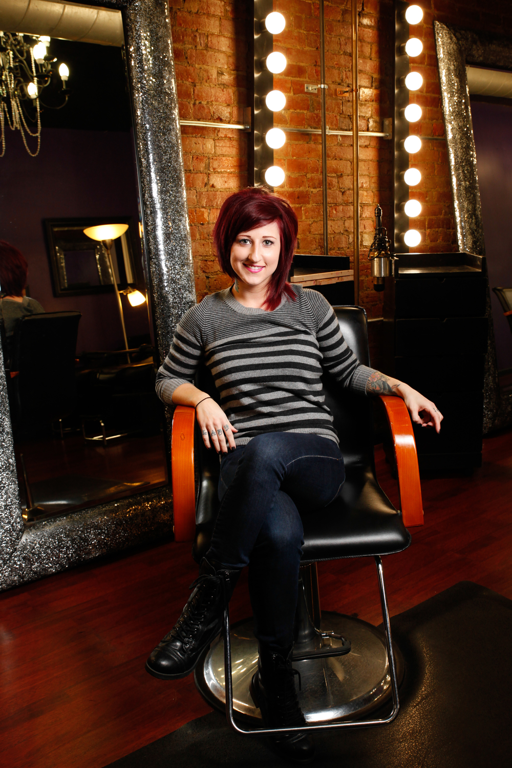 Sam Reese :: Hair Stylist :: Columbus Ohio   The Beauty and the Barber