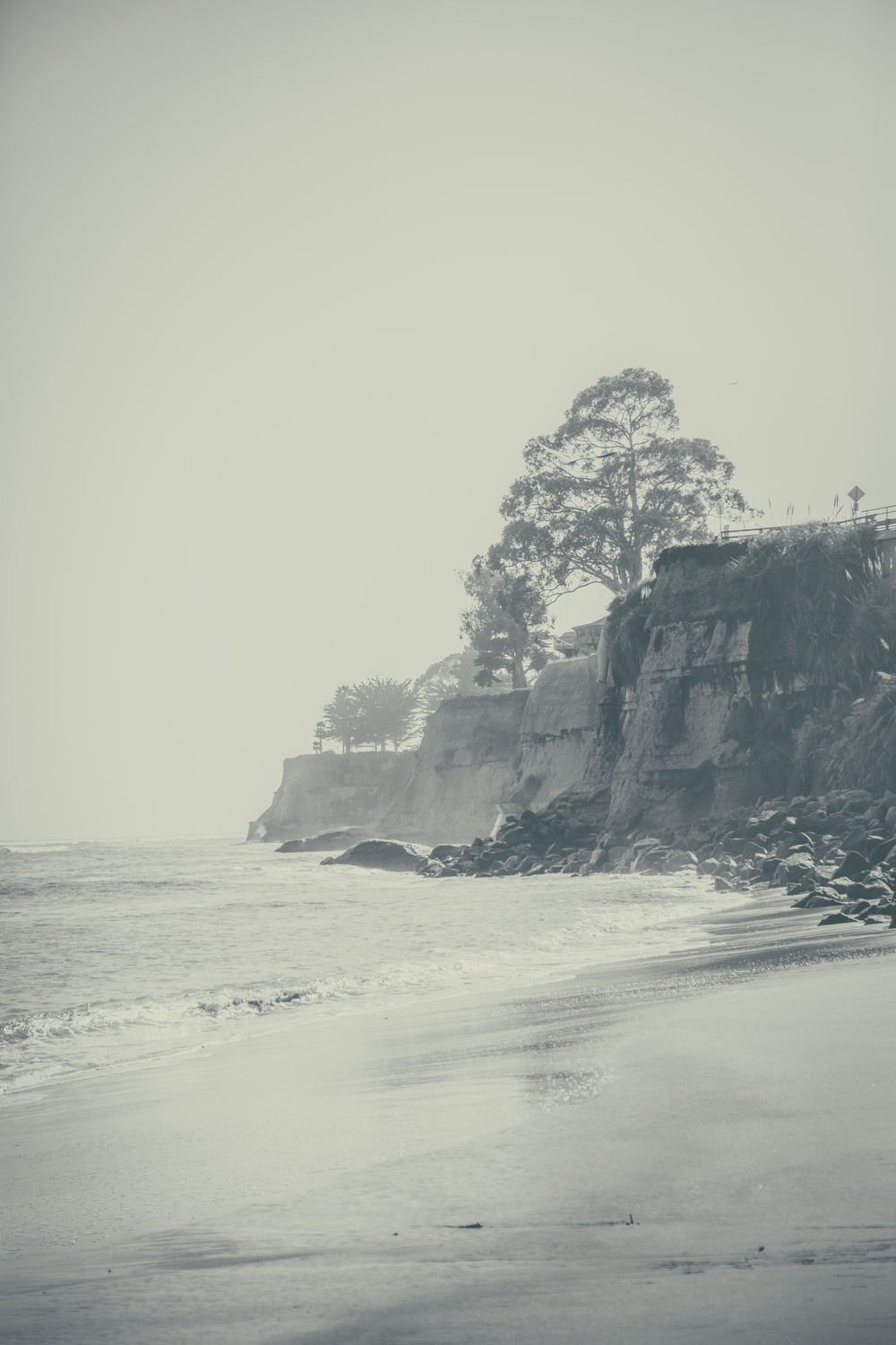 Santa Cruz - Cliffs leading to Pleasure Point in Capitola
