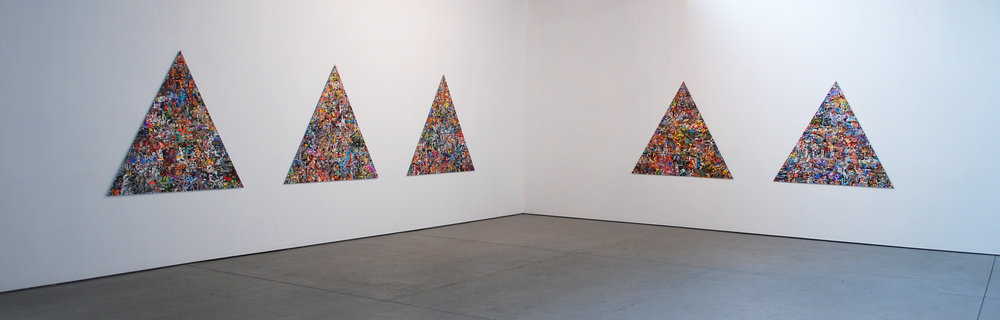 Rus Kitchin Worlds installation Lindberg Galleries 2017