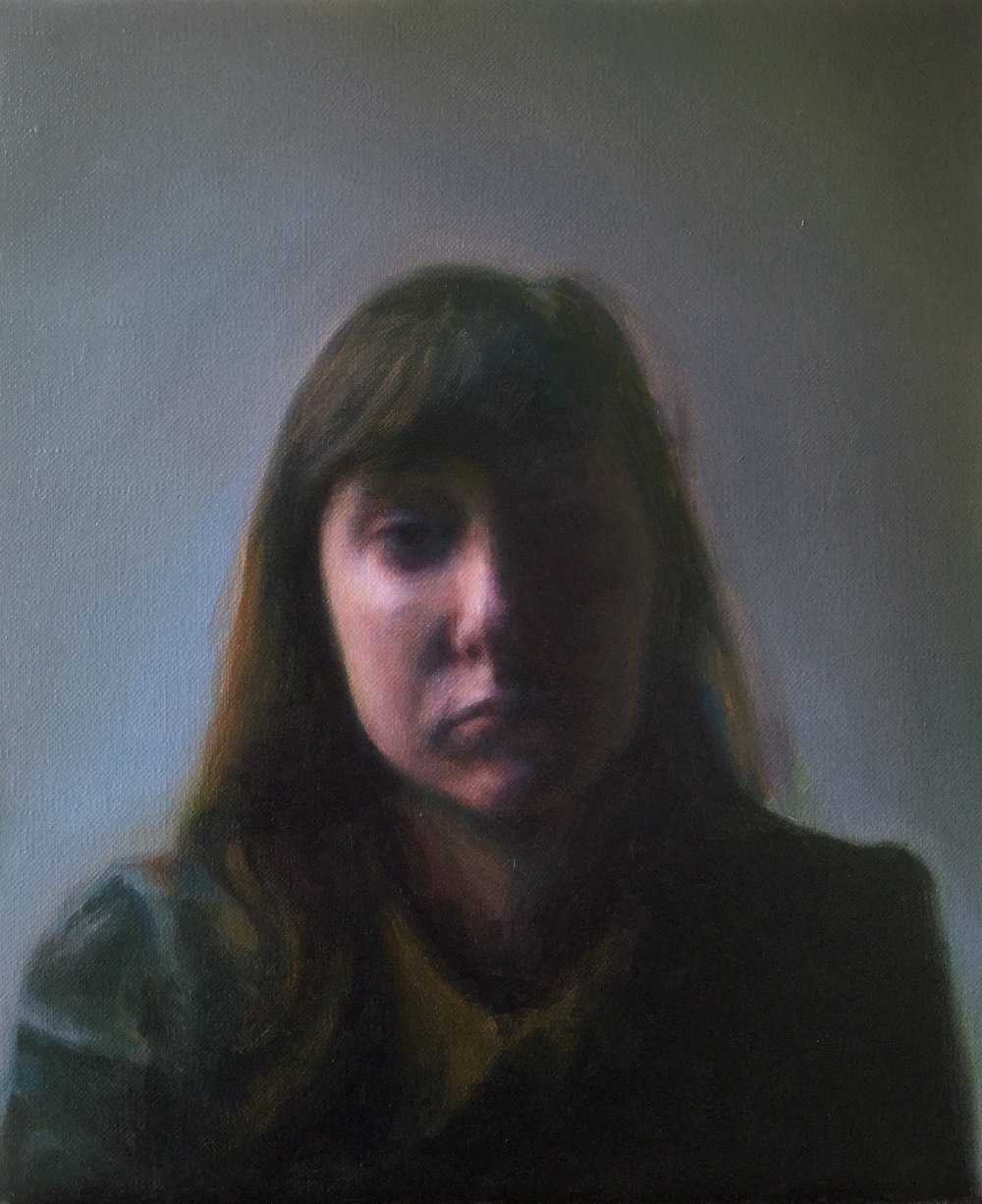 James Bonnici, Sarah Study oil on linen, 26 x 31 cm, available