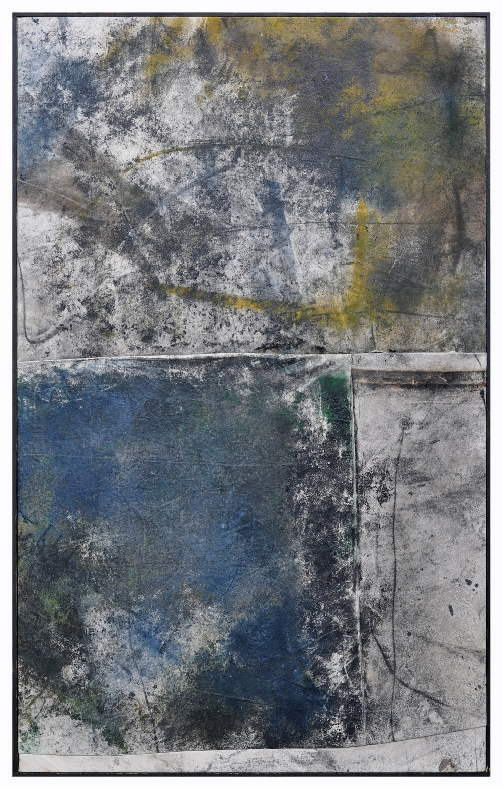 Ryan McGennisken, Ok Lets Go 78 x 124 cm, 78 x 124 cm, spray paint, thred, on canvas, oak frame, available