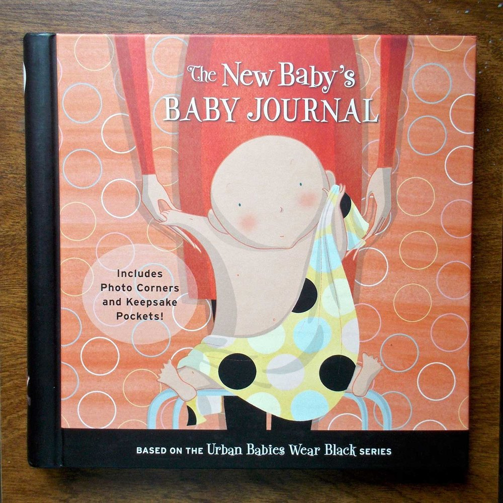 The New Baby's BABY JOURNAL - Based on the Urban Babies Wear Black seriesTricycle Press
