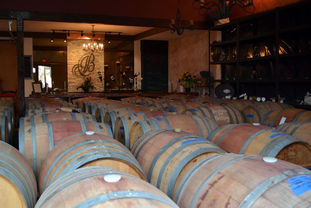 J. Bell Cellars Tasting Room - The Barrel Move