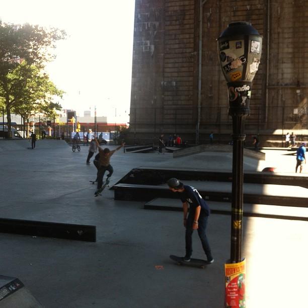 Skate!!! @karlfernz @kpivs @chrisvidal @michael_mroczek @madmckees #nike #skate