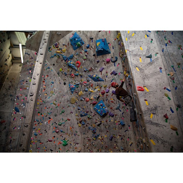 Climb on. Flagstaff Climbing Gym, Arizona. #americasclimber #climbing