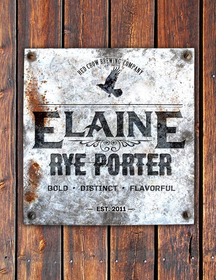 Elaine This Lady is tough as nails. ABV:……..5.2% Bitterness:…… 25 IBUs A combination of rye and roasted malt blended to make a very distinct throw-back porter. Rye malt adding a earthy velvety character, building upon the roastiness creating a dark beer that is easily enjoyed.