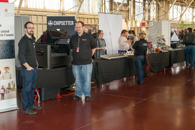 We're back from Maker Faire Ottawa, as always it was a fantastic time at the show.