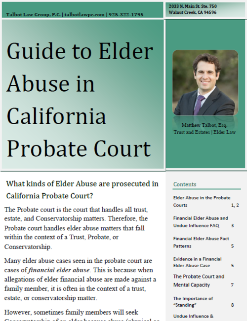 Estate planning and elder law guides talbot law group pc guide to financial elder abuse in contra costa countyg solutioingenieria Choice Image