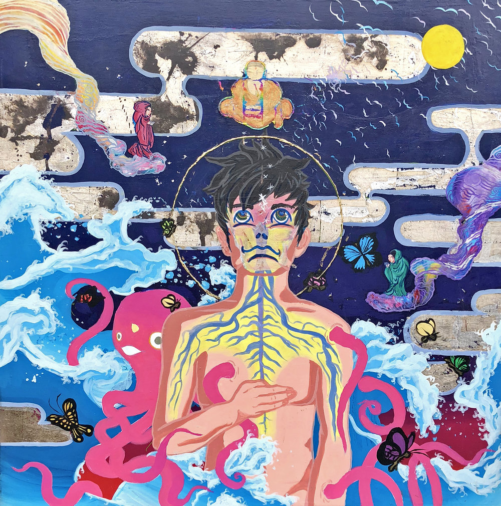 Self Portrait (Samsara), 2014