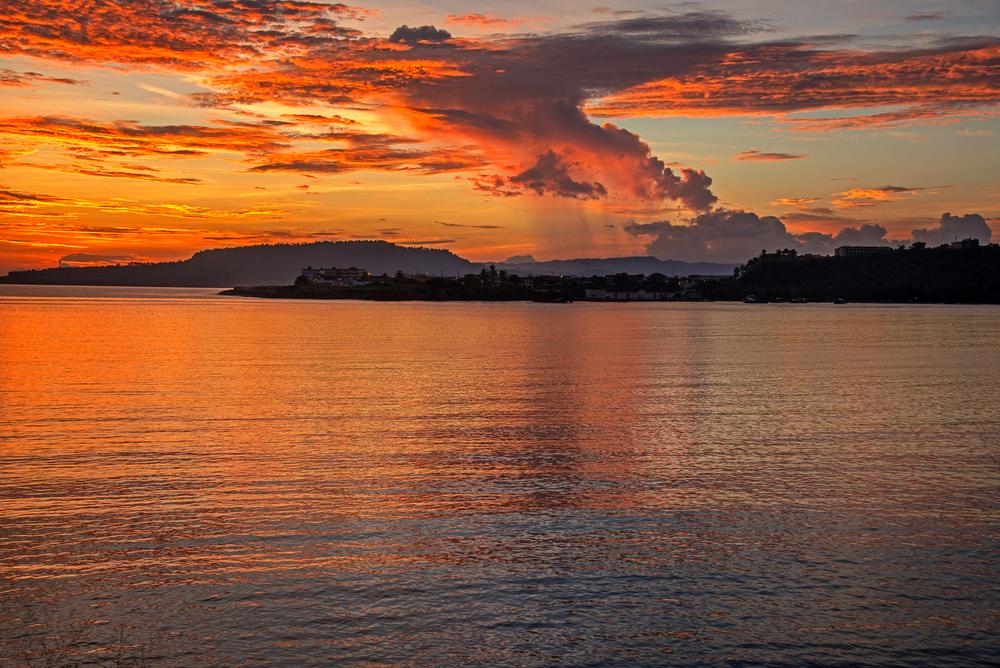 Sunrise, Baracoa