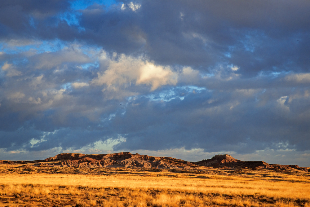 Morning Light and Clouds, Painted Desert
