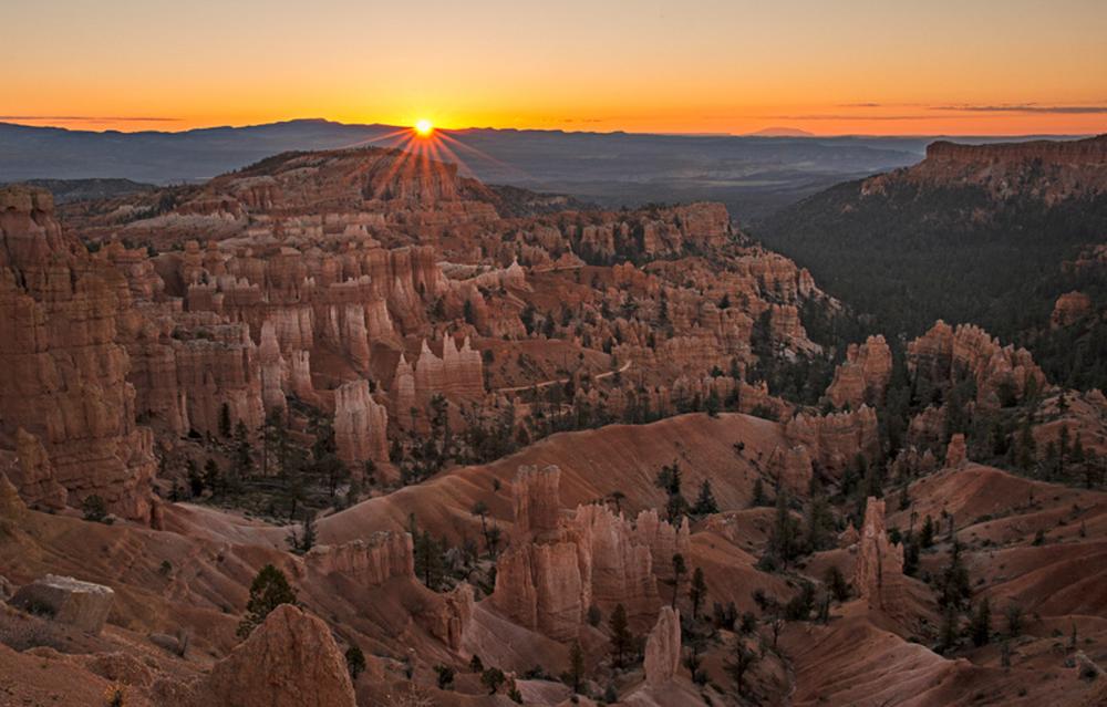Bryce Canyon Starburst