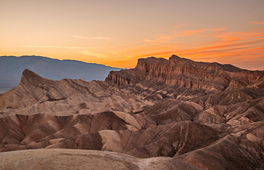 Sunset Zabriske Point