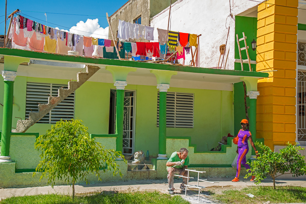 Guantanamo House with Laundry