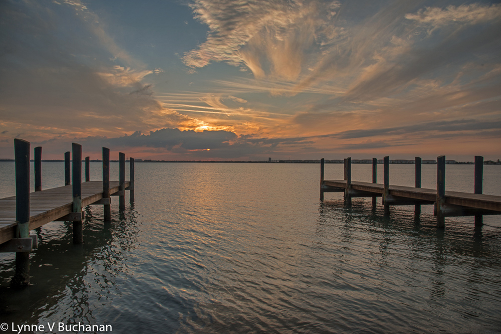 Sunset Indian River Lagoon