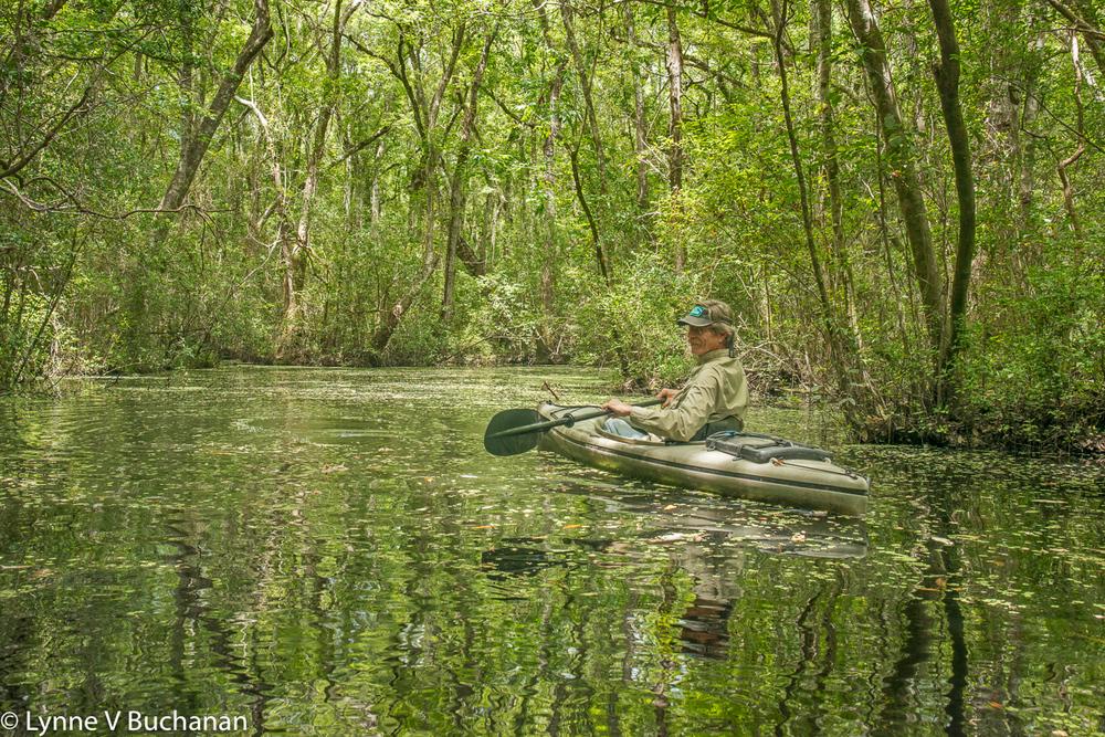 Serge Latour Kayaking
