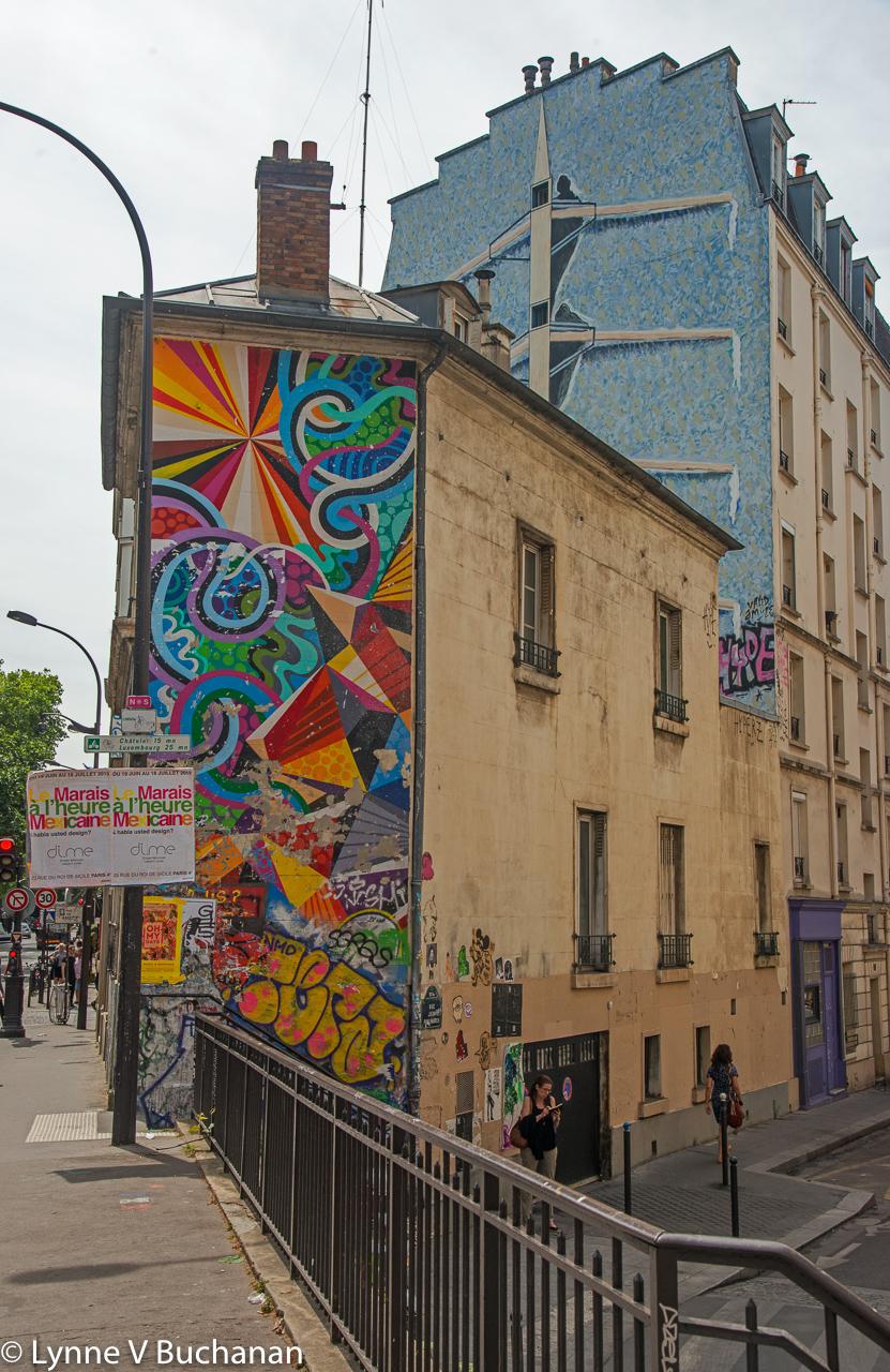 Graffiti in Paris, Modern Delaunay