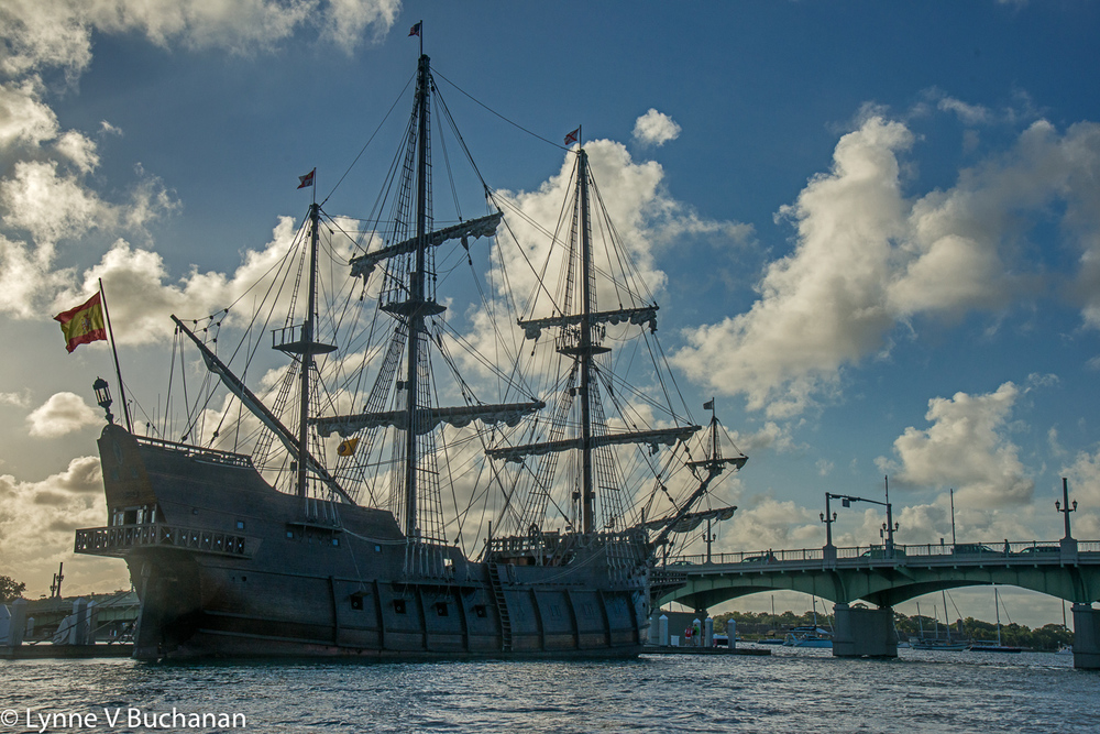 Spanish Ship, St. Augustine Harbor