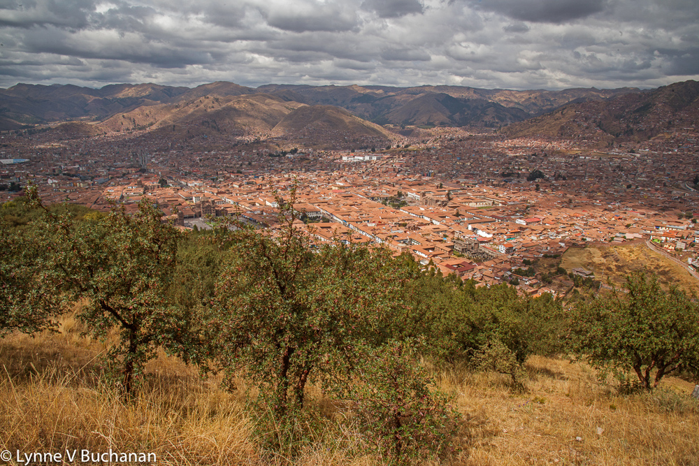 View of Cusco from Sacsayhauman
