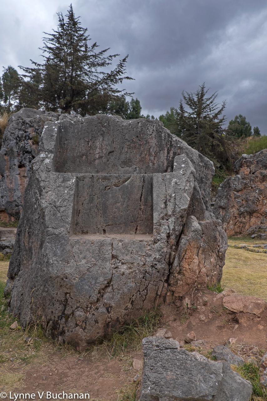 Sacsayhauman Throne