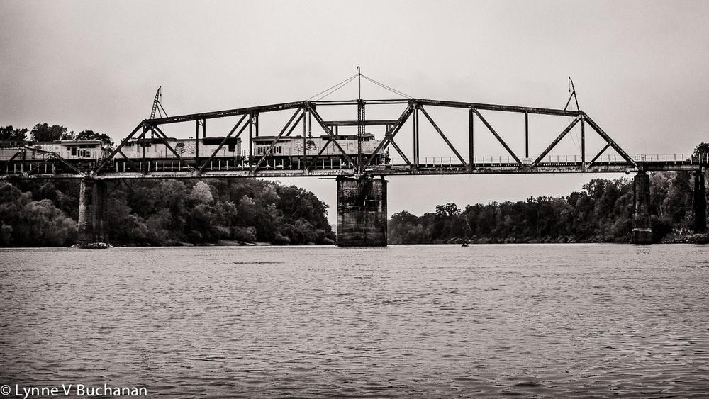 Train Bridge over the Apalachicola River