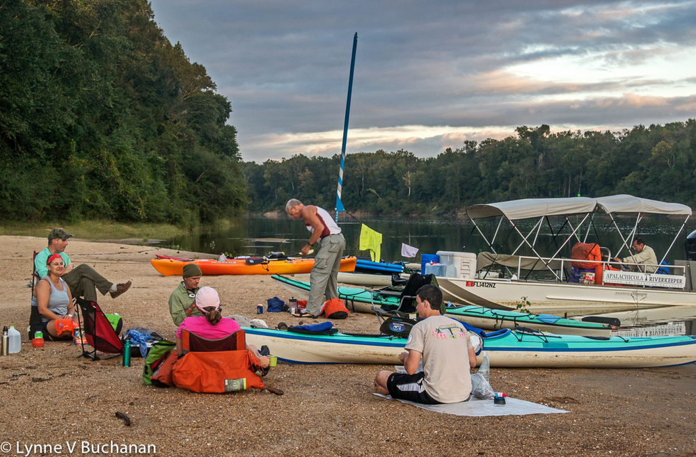 The End of Day 1, Apalachicola Rivertrek