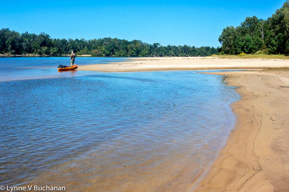Apalachicola River Long High Sandbar