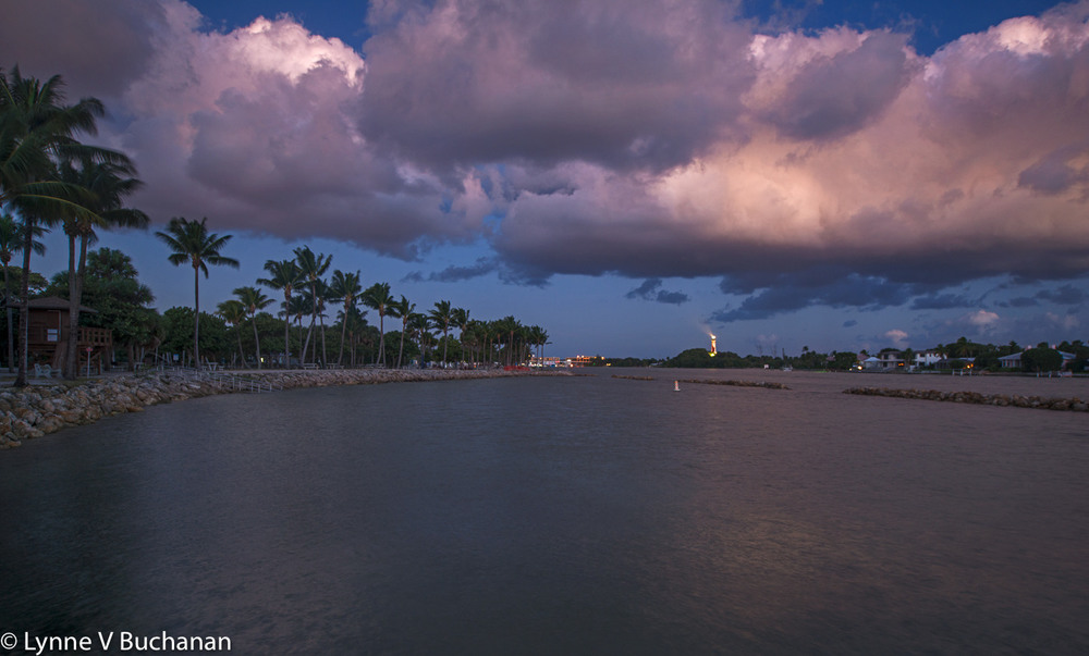 Lighthouse Before Dawn, Jupiter Inlet