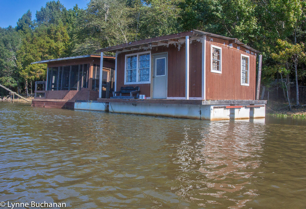 Floating House with Attached Porch