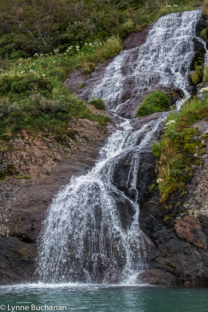 Waterfall, Agostini Fjord