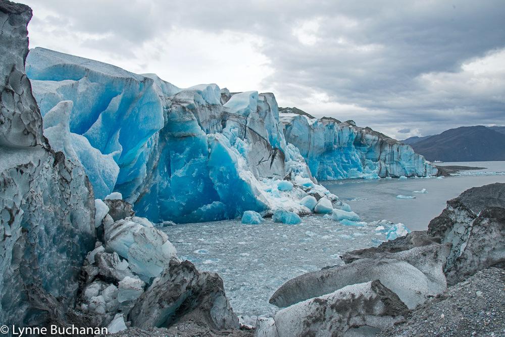 Length of the Pio XI Glacier