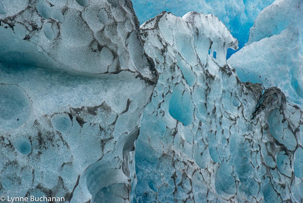 Sand Patterns in the Pio XI Glacier