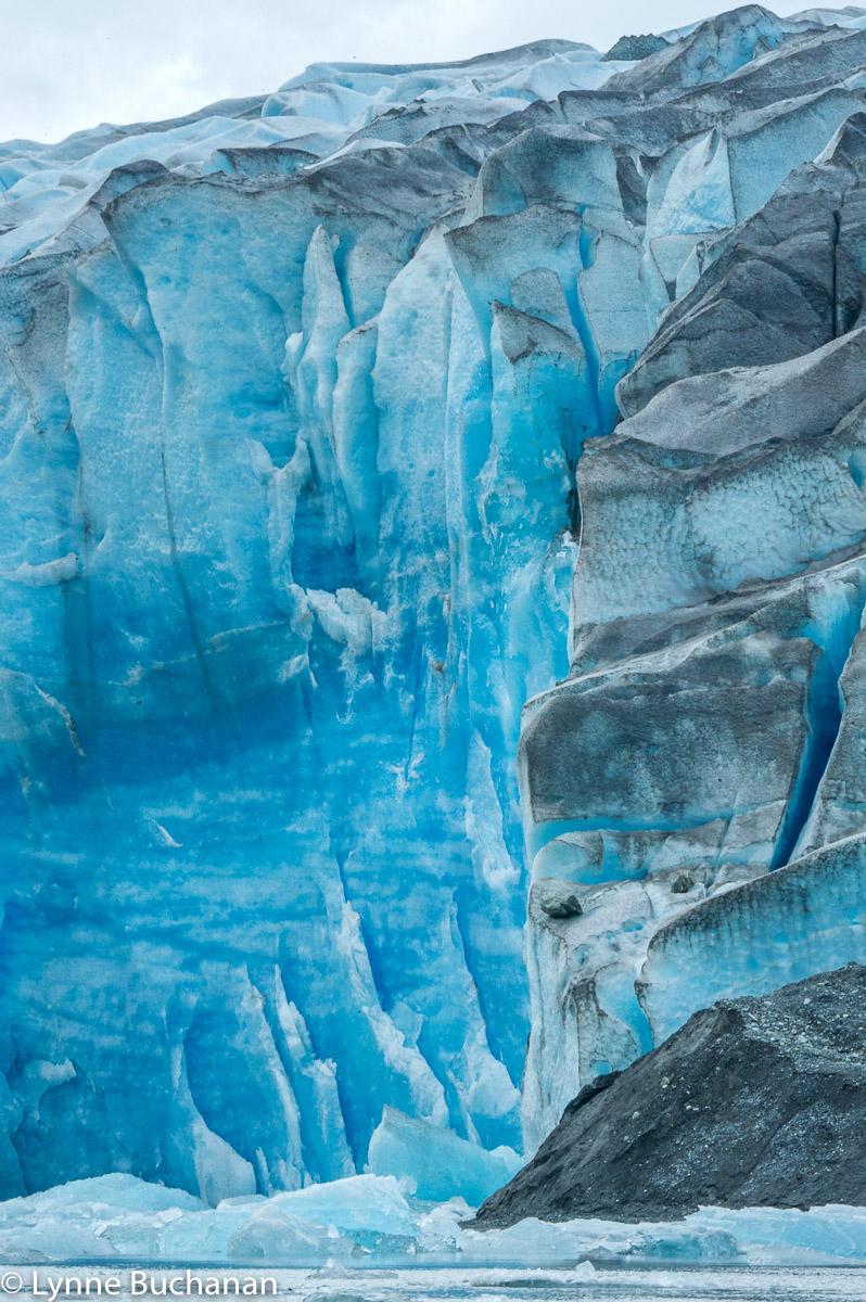 Glacial Sculpting, Pio XI Glacier