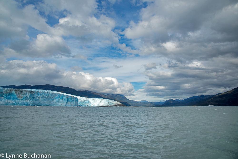 Clouds over the Pio XI Glacier