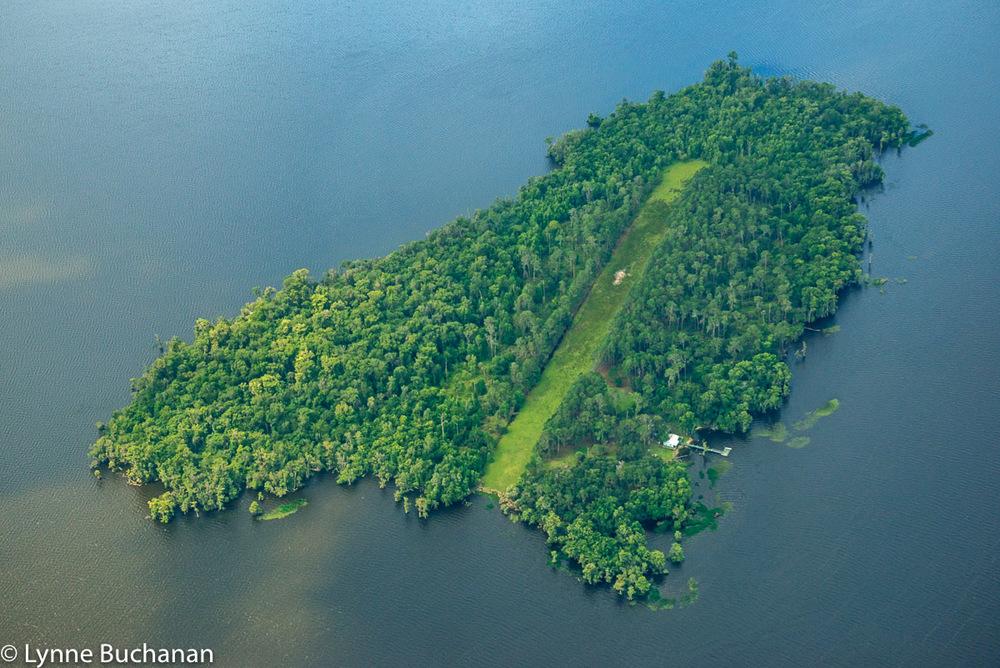 Bear Island in Crescent Lake