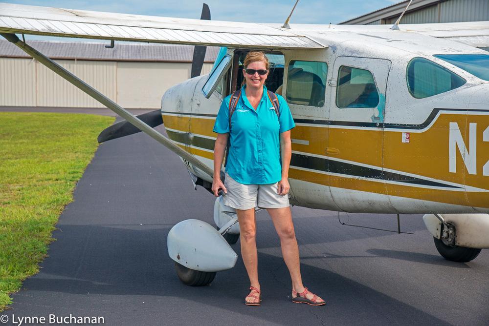 Lisa Rinaman Ready for Takeoff