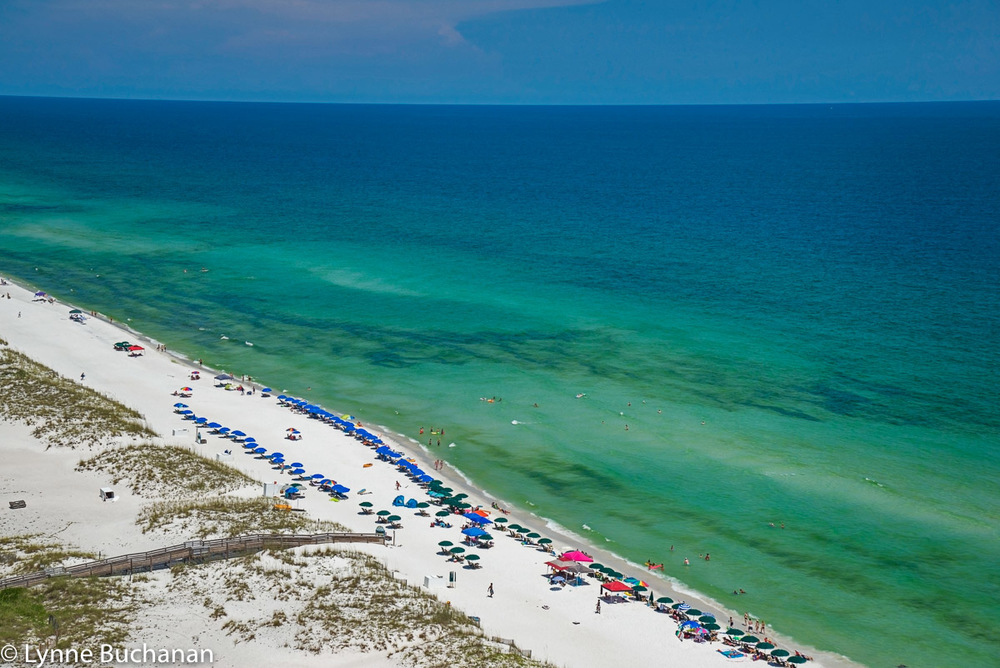 Pensacola Beach's Emerald Waters