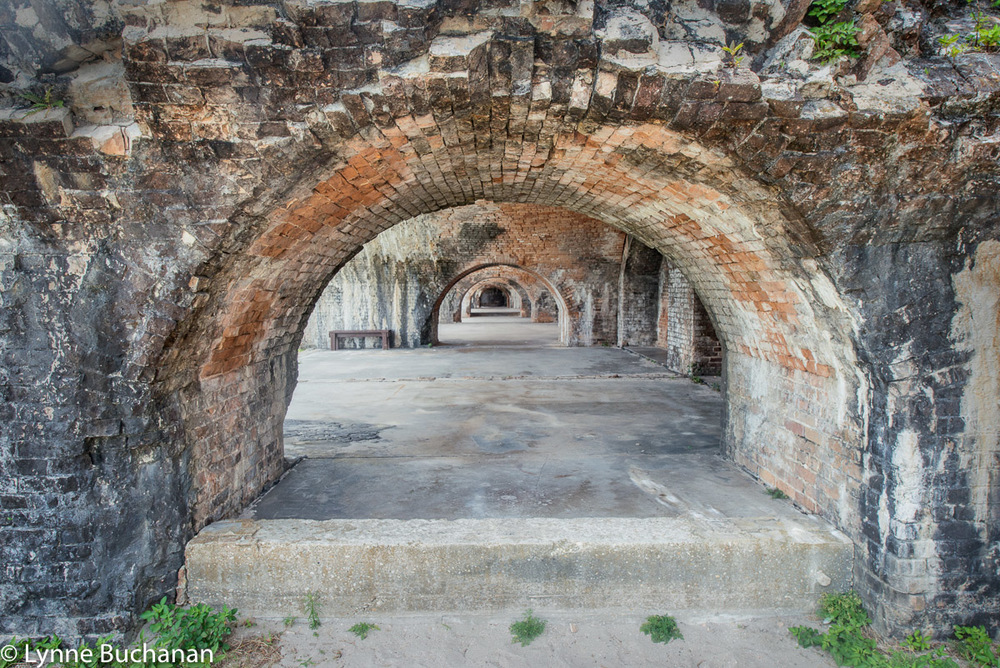 Fort Pickens Archways