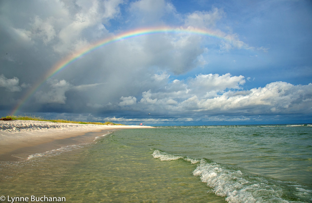 Rainbow Gulf Islands National Seashore