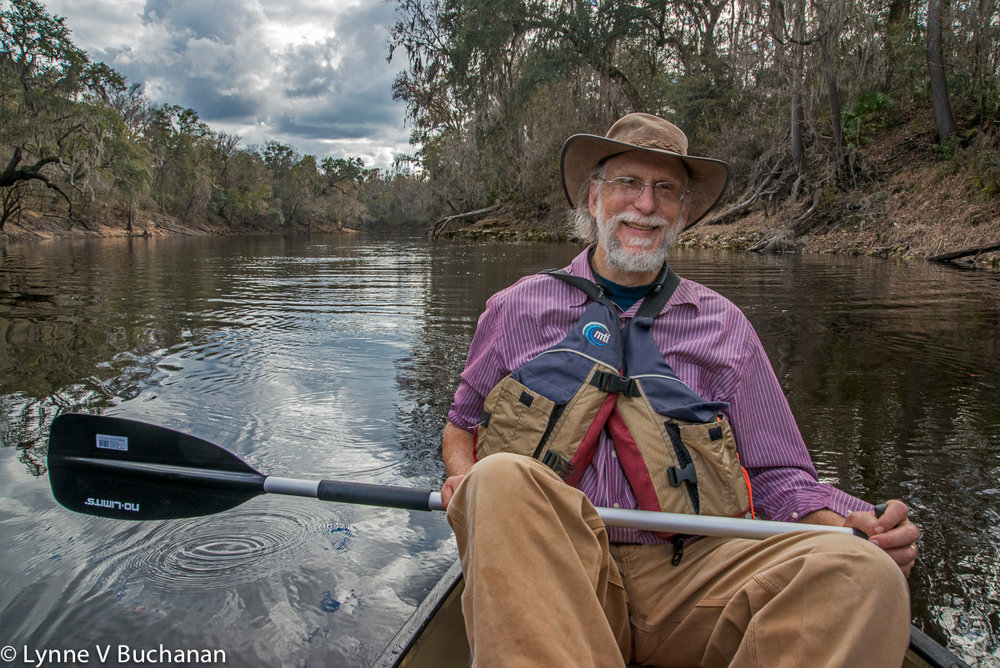 John Quarterman on the Maiden Voyage of the Suwannee Riverkeeper Canoe