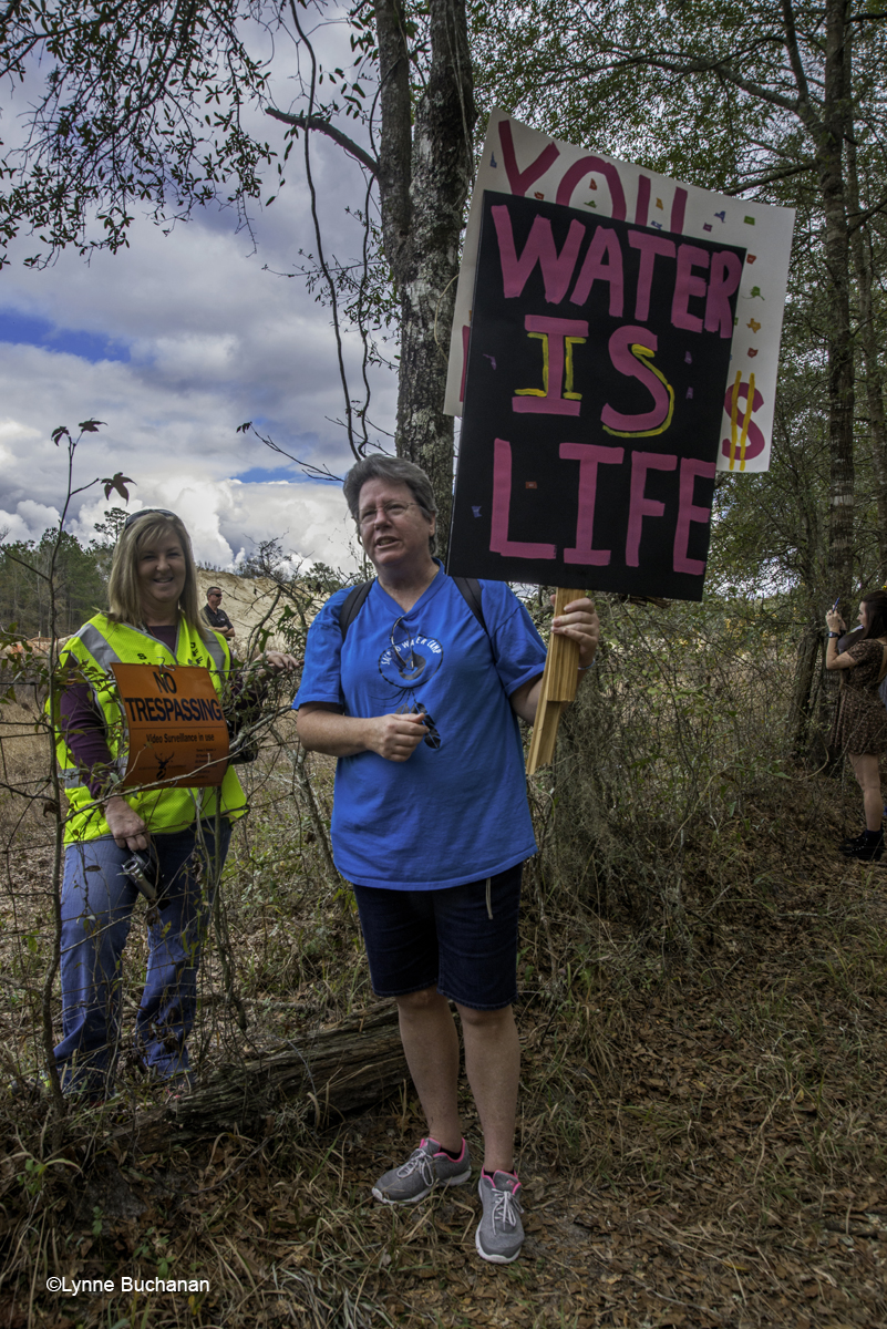A Water Protector and a Sheriff, Neighbors on Opposite Sides of the Fence