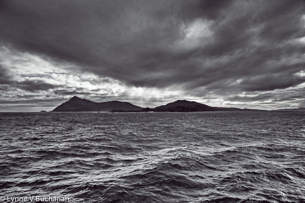 Seas Around Cape Horn